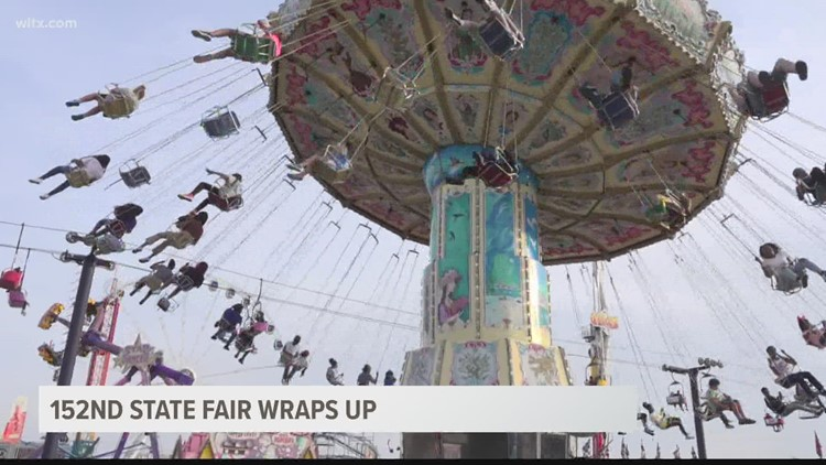 Nearly 350,000 attend the 2021 South Carolina State Fair