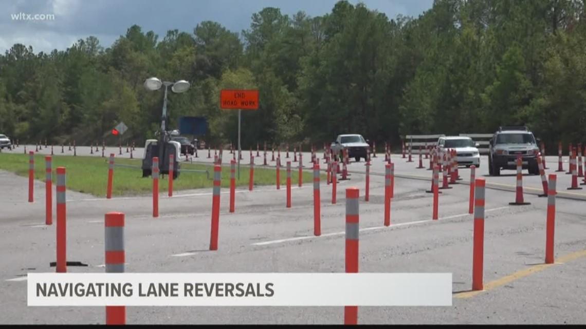 Navigating I-26 lane reversals