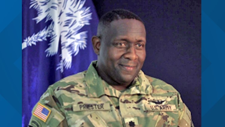 SC National Guard welcomes new commander at Eastover training center