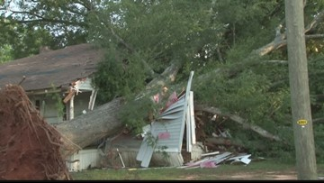 Late night storms in Newberry cause damage