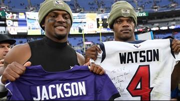 """It's really inspiring for us."" Local African American QB's  on Lamar Jackson, Deshaun Watson"