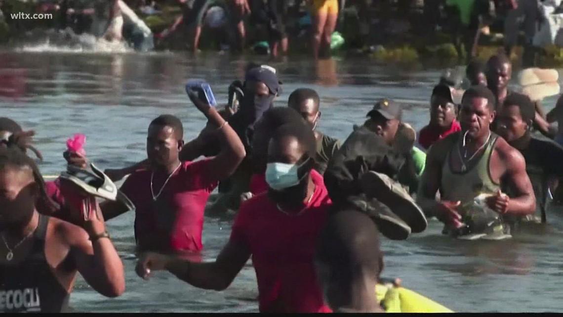 Agencies struggle to manage humanitarian crisis in Del Rio