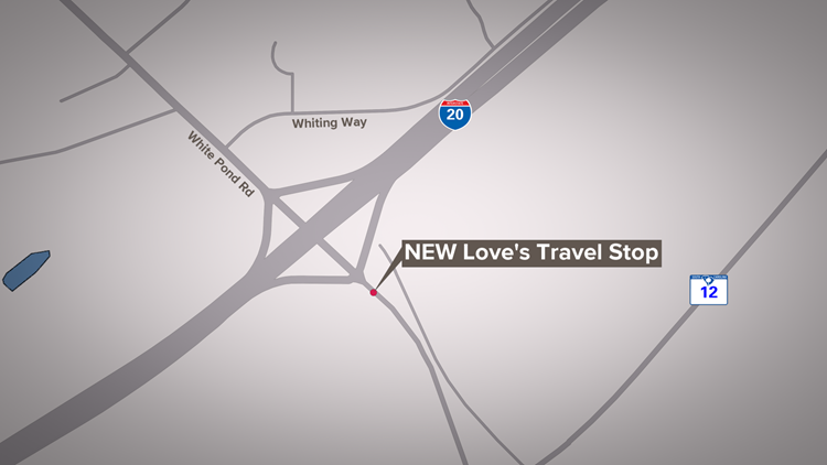 New Love's Travel Stop in Elgin