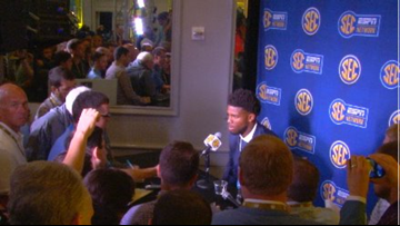 Journalists Welcome Kelly Bryant To His First SEC Media Day