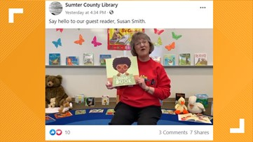 Sumter library offering online storytelling, digital tutoring to families at home