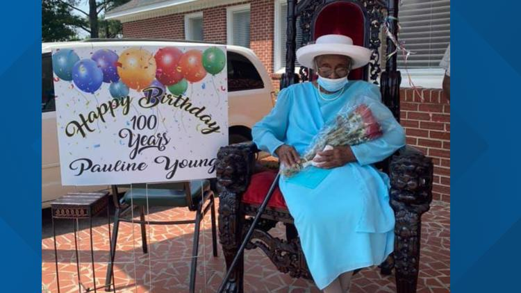 Holly Hill woman credits turning 100 years old to good old fashioned prayers