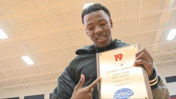 DeVante Johnson is the News19 Player of the Week