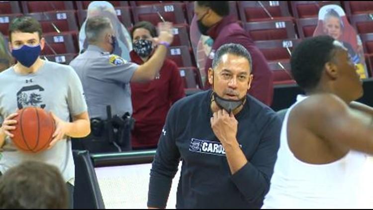 South Carolina basketball personnel news
