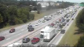 I-26 near Irmo reopens following crash