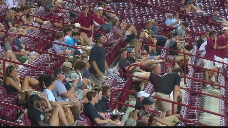 USC baseball will have 100% capacity this weekend as the Gamecocks take on Tennessee