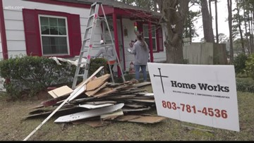 Group gives free repairs to 4 homes in Columbia, SC