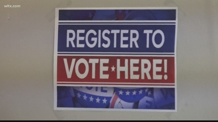 The town of Orangeburg trying to get the message out about registering to vote