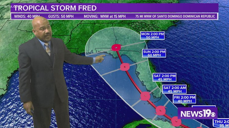 8-11-21 Evening Forecast With Chief Meteorologist Efren Afante