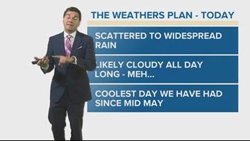 Chris Mulcahy's Wednesday Forecast - June 12, 2019