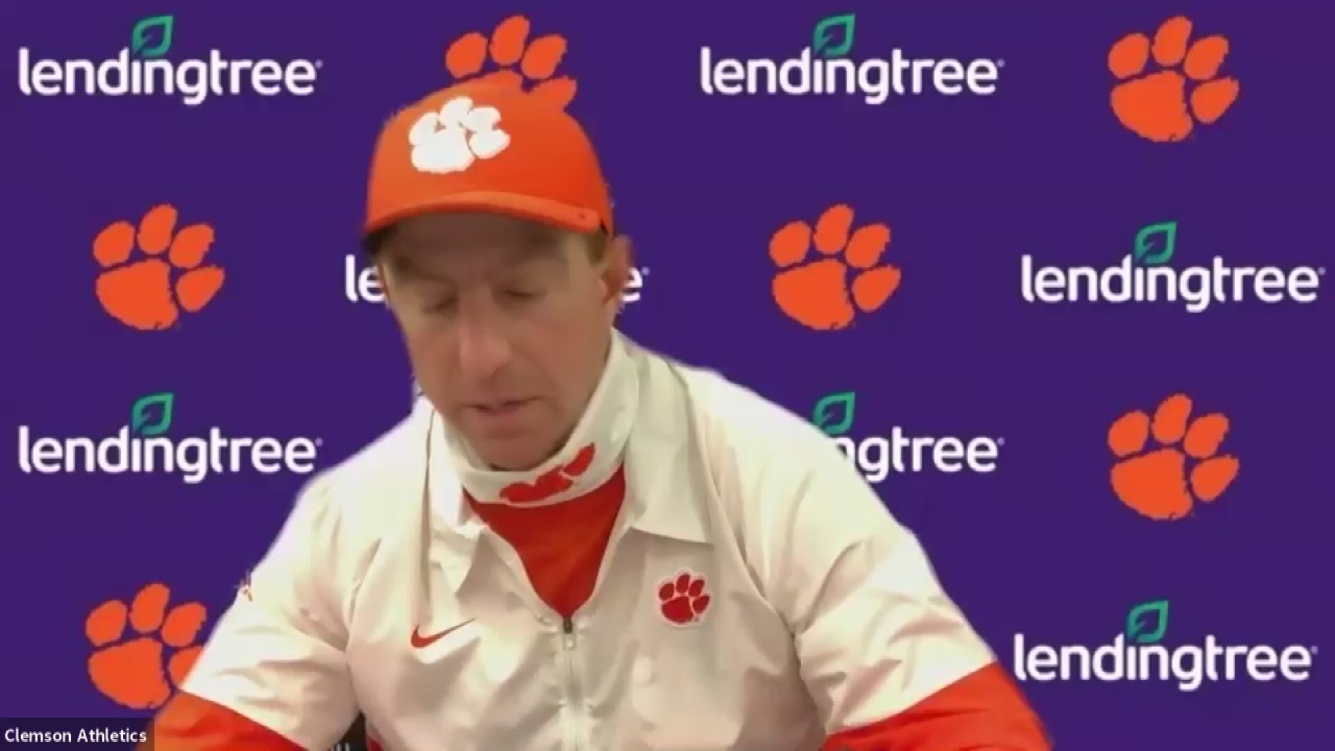 Dabo, Trevor and Nyles talk about the win over GA Tech ...