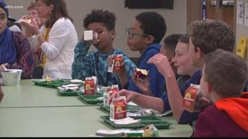 Reducing food waste in schools in South Carolina