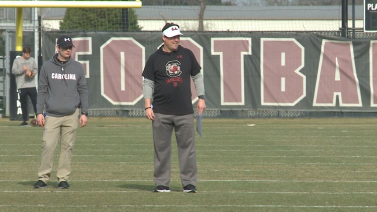 USC's Will Muschamp preparing to play football in the fall