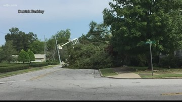 Storm preparations in Newberry county