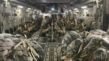 Nearly 500 SC National Guardsmen headed to D.C.