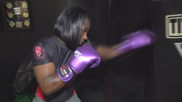 LanNeisha 'She Hulk' Vinson is paving the way for young MMA fighters