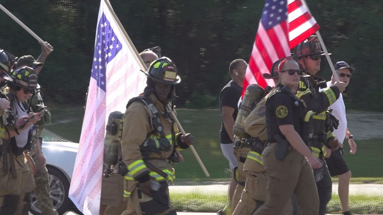Kershaw Co. walk to honor 9/11 victims started with one man. It now brings a community to its feet