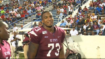 S.C. State lineman lands in Cleveland