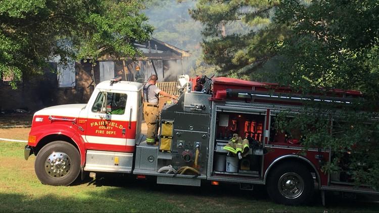 Smalls Chapel Road House Fire Winnsboro