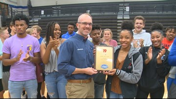 Dreher senior volleyball player is the News19 Player of the Week