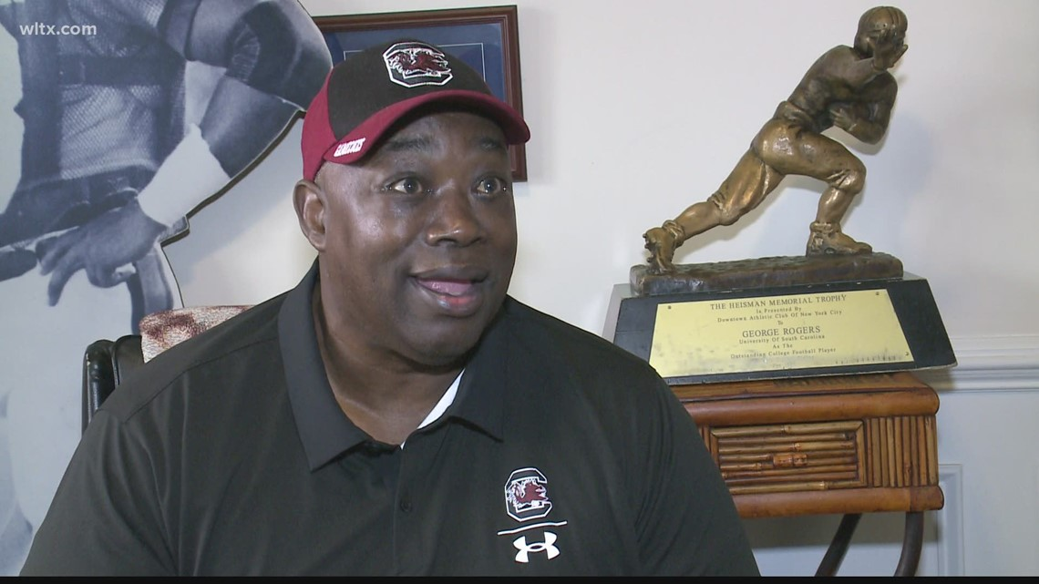 George Rogers looks back on his relationship with the late Willie Scott