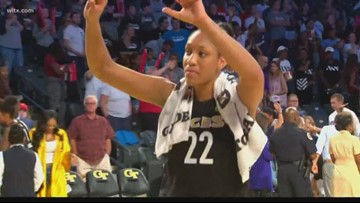A'ja Wilson Earns Another Rookie of the Month Award