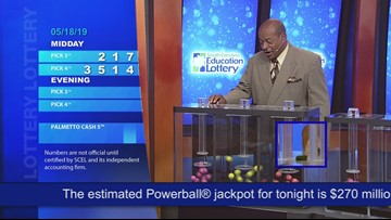 Evening Lottery Results May 18, 2019