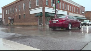 Rain in Newberry could lead to icy conditions