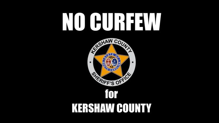 Kershaw County has no curfew
