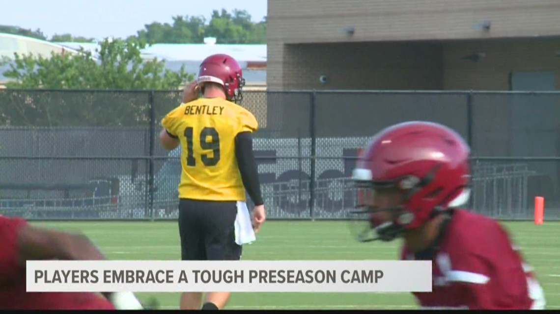 Bryan, Bentley and Brunson on the demands of preseason camp