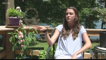 Clemson student searches for cure for breast cancer