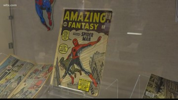 Comic book power couple draws hundreds to University of South Carolina library