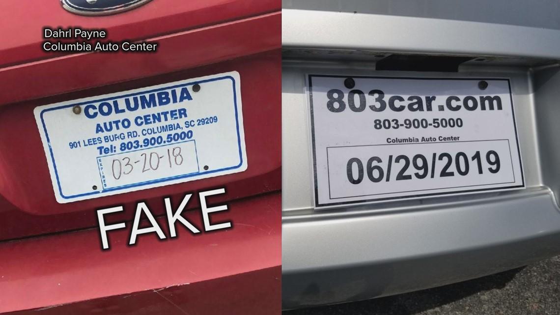 South Carolina Unveils New Trackable Temporary License Plates Wltx Com