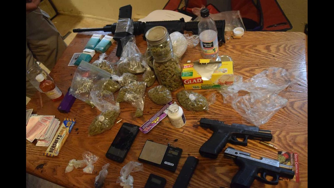 Drugs, loaded AR-15 found during arrest in Orangeburg