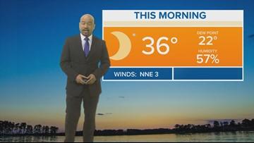 Efren Afante's Thursday Forecast - January 10, 2019