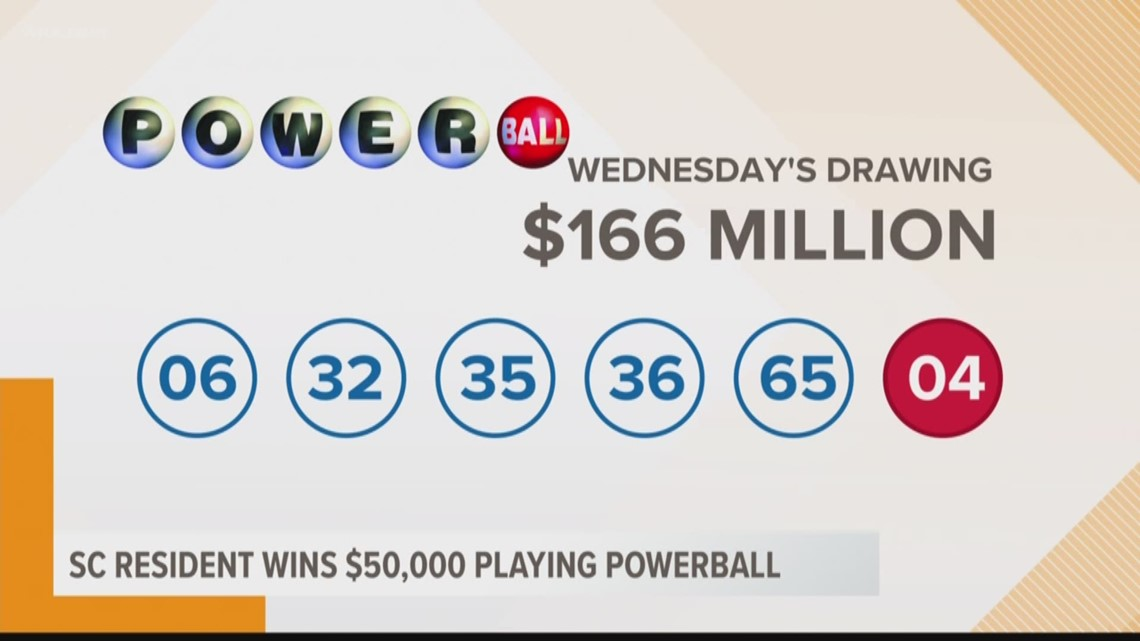 50 000 Powerball Ticket Sold In South Carolina Wltx Com
