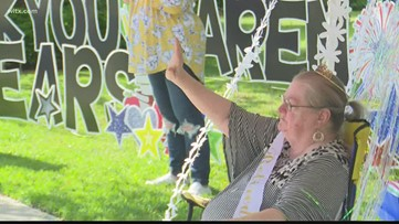 After 41 years, a retirement parade for teacher