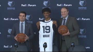 Ja Morant Talks Ahead of First NBA Game Back in Carolinas