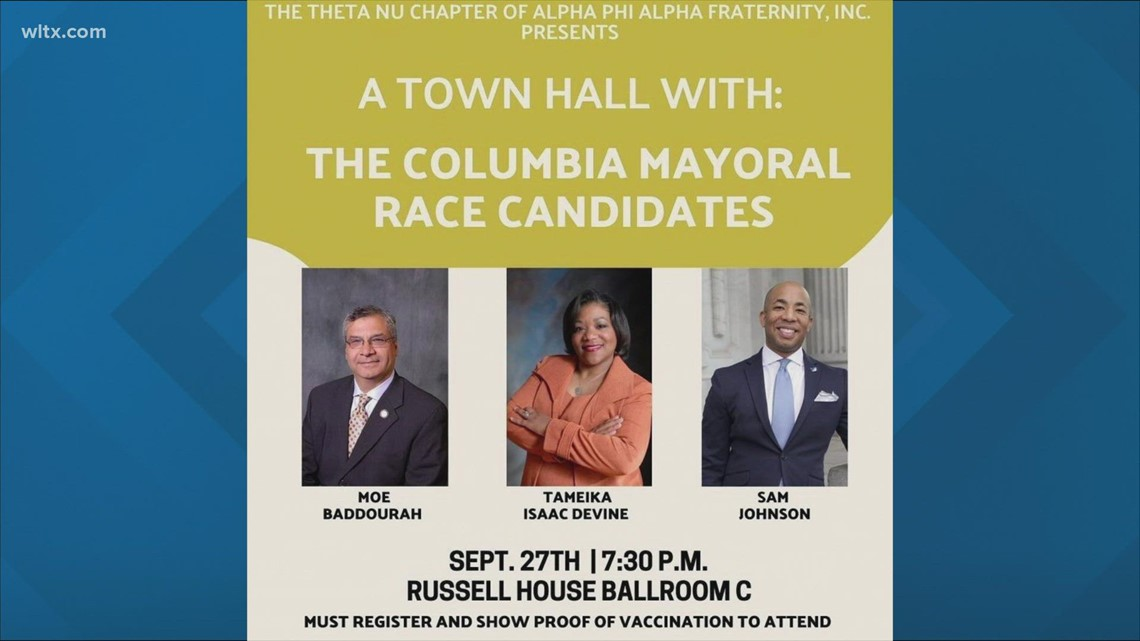 Columbia mayoral forum set for Monday at USC