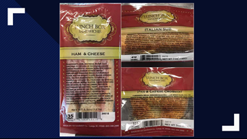 Grand Strand Sandwich recalls Lunch Box products over listeria concern