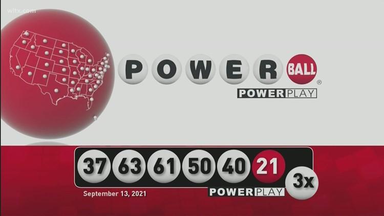 Powerball: September 13, 2021