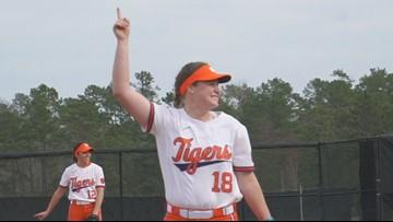 Clemson softball team makes history