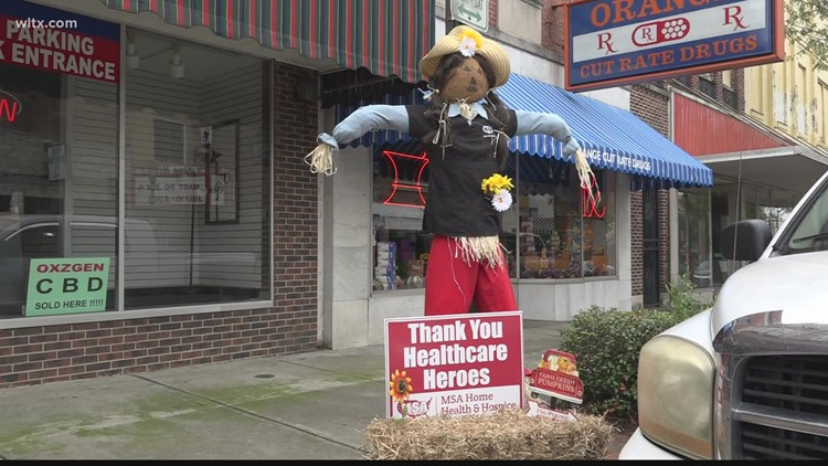 Orangeburg's scarecrow contest 'crows' for the fourth year