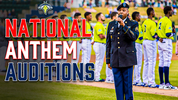 Fireflies search for National Anthem performers for 2021 season