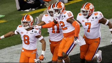 Clemson's title team ranked 5th best college team of all-time