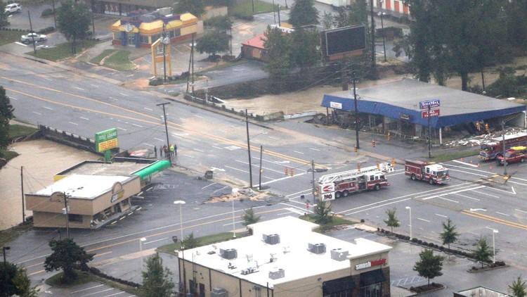 flooding gills creek title max devine street october 4 2015 flooding